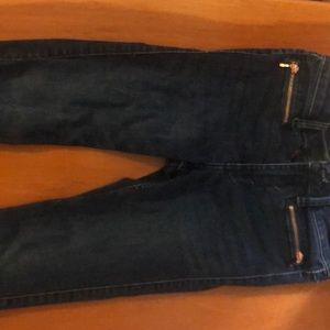 A&F super skinny ankle jeans signature collection